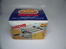 AMPIA 150 OMC, Noodle  Pasta Maker Machine, Marcato Ampia 150, Edelstahl, Neu.