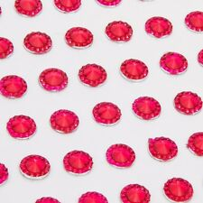 CraftbuddyUS 108pcs Self Adhesive Pointed Resin Glitter Gems: : Cerise