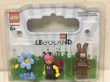 LEGO Easter Exclusive Minifigures Chocolate Bunny Flower Girl Teddy 852766