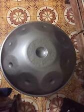 Harmonic Handpan 9-notes Kaffa 1st Generation Steel Pan Handrum Hung Art