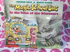 THE MAGIC SCHOOL BUS IN THE TIME OF THE DINOSAURS 2007 COPY/PAPERBACK ~ EXC L.N.