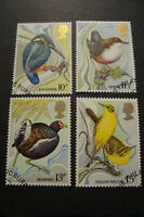 GB 1980 Commemorative Stamps~Wild Birds~Very Fine Used Set~(ex fdc)UK Seller