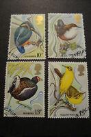 GB 1980 Commemorative Stamps~Wild Birds~Very Fine Used Set~(ex fdc)UK Seller