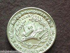 Antique 1850's Allen & Moore Birmingham Medal Mathematics Merit Medallion