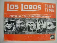 Los Lobos Poster This Time Promo