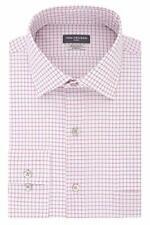 "Van Heusen Check Spread Collar Dress Shirt Pink 14.5"" Neck 32""-33"" Sleeve Small"