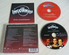 CD + DVD ALBUM LES INCONNUS 20 ANS ZI ANNIVERSAIRE 18 TITRES + DVD 2007