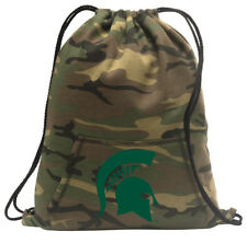 Michigan State Cinch Pack Backpack COOL CAMO Michigan State Bags