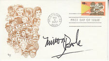 MILTON BERLE hand signed 1977 FDC first day cover autographed - MARQ cachet