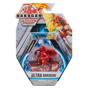 BAKUGAN GEOGAN DRAGONOID ULTRA FIGURE PACK RED PYRUS GATE CARDS 2021