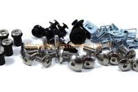Honda RVF 400 NC35 1994-96 Dzus /& Stainless Steel Fairing /& Screen Bolts Kit