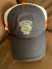 New York City Correction Department Baseball Cap Brooklyn Cyclones SGA Snap Back