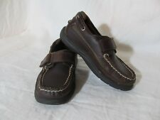 Sperry Top-Sider Boy's Size 10.5 W Cutter H&L Brown Leather Loafers  Boat Shoes