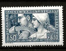 FRANCE (507) 1928  YV252 SG463   SINKING FUND BLUE  FINE MOUNTED MINT