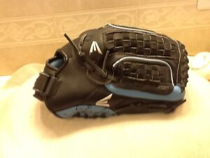 """Easton FPT12 12"""" Blue Pattern Youth Softball Glove Right Handed Throwing"""