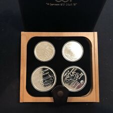 Silver Coin Montreal Summer Olympics 1976 - 4 Set Water Sports