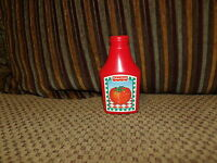HTF Vintage 1988 Fisher Price Fun with Food KETCHUP Bottle ~