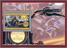 BMW K-Series K1300R Motorbike Motorcycle Stamp Sheet (2012 Guinea)