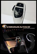 BMW E90 E91 E92 E87 E84 Argento LED Cambio Pomello Del Cambio Per Lhd con luce di posizione del cambio