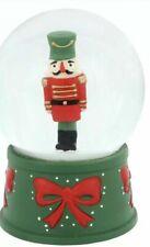NUTCRACKER Christmas Snowglobe  Home Decor Gift Christmas Decoration