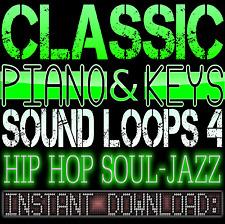 PIANO,KEYS,RHODES,SOUNDS WAV LOOP SAMPLES 4 Hip Hop Soul Jazz Akai Reason Studio