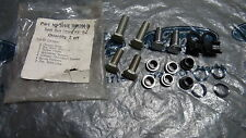 MK2 CORTINA GT 1600E LOTUS GENUINE FORD NEW OLD STOCK FRONT SEATBELT FITTING KIT