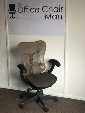 Herman Miller Mirra 1 Triflex Back Executive Chair Cappuccino Front & Tilt Lock