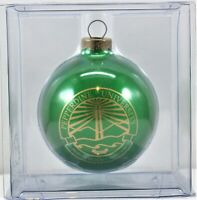 Pepperdine University Christmas Ornament Green Round Fast Free Shipping
