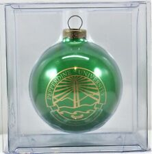 Pepperdine University Christmas Ornament Green Round Fast Free Shipping