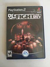 Vintage Playstation PS2 Black Label Def Jam: Fight for NY Complete CIB Manual
