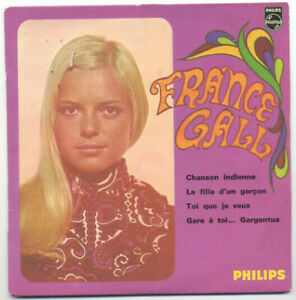 45t EP FRANCE GALL : Chanson indienne