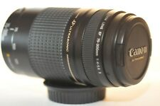 Canon EF 75-300mm f/4-5.6 USM lens NICE for EOS A2 620 Rebel T7 90D 80D 5D 6D 7D