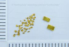 (IT) 2 lingotti oro puro 999.9,lingot or+36 pepite oro 0.6-1.5mm