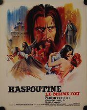 Affiche Cinéma RASPOUTINE LE MOINE FOU 1966 SHARP Lee Shelley Pasco - 40x60