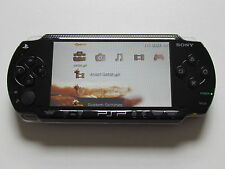 BLACK Sony PSP fat 1003 gaming console, very good condition + warranty