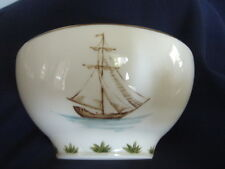 Lenox Bowl British Colonial Collection  Chuck Fischer Clipper Ships Made in USA