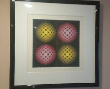 Victor Vasarely HAND SIGNED LIMITED EDITION Serigraph Vega Series OP Art