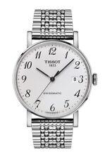 New Tissot Everytime Swissmatic Stainlesss Steel Men's Watch T1094071103200
