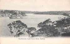 Sydney Australia Northwood Lane Cove River Antique Postcard J66471
