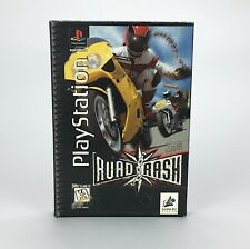 Road Rash for Sony Playstation Complete Long Box Manual Tested Electronic Arts