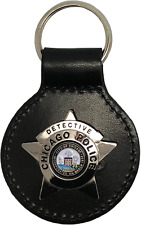 CHICAGO POLICE STAR KEY FOB: Detective