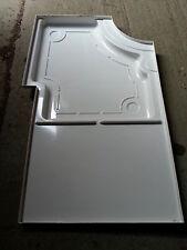 motorhome Autotrail caravan  white  shower tray