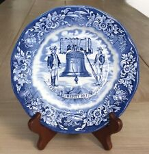 Avon Liberty Bell Bicentennial Plate by Enoch Wedgwood 1976 Made in England