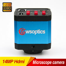 Microscope 14MP HDMI USB Industry 1080P HD Camera Digital C-mount Video Recoder