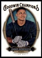 2020 Goodwin Champions Base #45 Jasson Dominguez RC