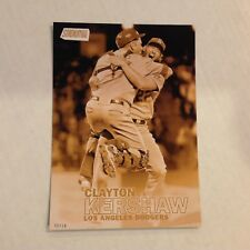 CLAYTON KERSHAW #69 Dodgers 2016 Topps Stadium Club 5X7 Gold Version #ed/10 Made