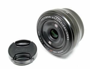 Fujifilm Fuji Fujinon XF 27 mm f/2.8 Lens - Black **MINT** Condition