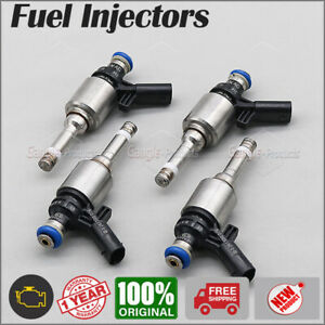 4PCS x 06H906036G Fuel injector Fit For Audi A3 A4 A5 Q5 VW CC GTI Tiguan 2.0L