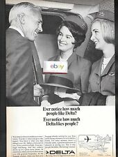 DELTA AIR LINES EVER NOTICE HOW MUCH PEOPLE LIKE DELTA & DELTA LIKES PEOPLE AD