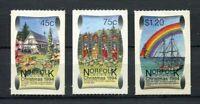 28207) Norfolk Island 1994 MNH New Christmas 3v S-A